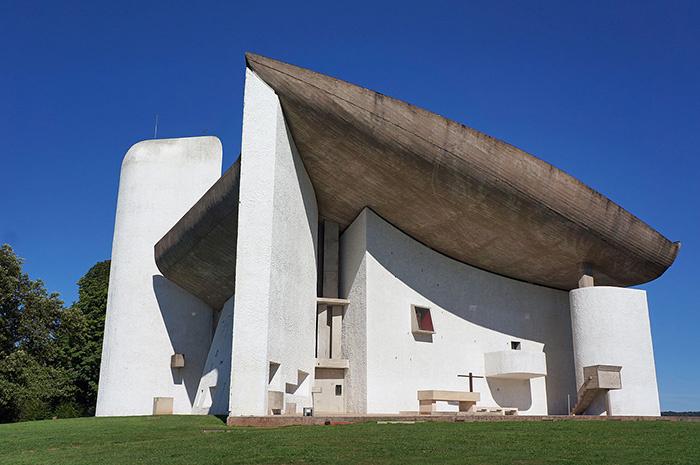 Chapelle de Ronchamp : Le Corbusier