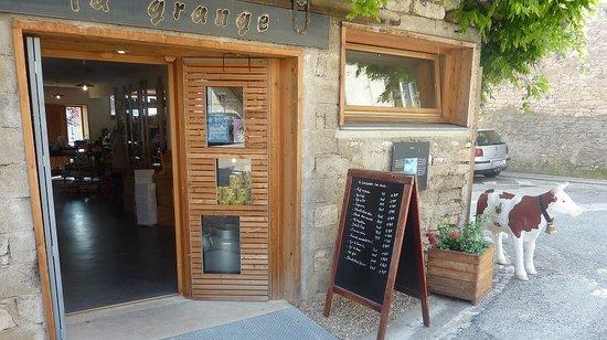 La Grange à Marnay : vente de Thé, Café, épicerie, biscuits...